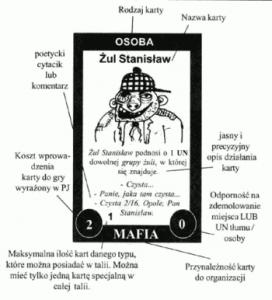 Sim Wiocha - przykladowa karta