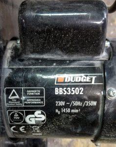 Silnik indukcyjny od piły taśmowej, 350W 1450RPM