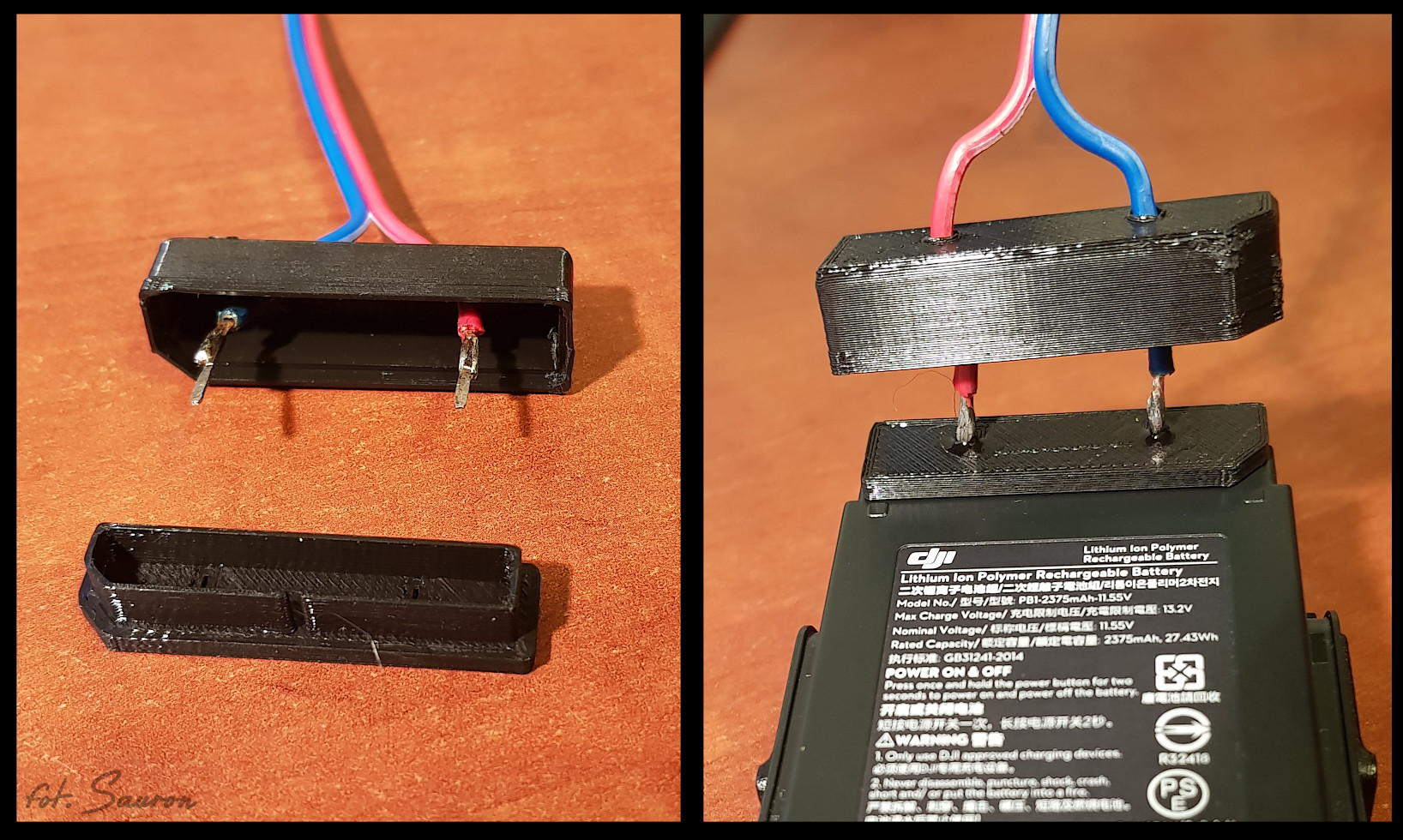 DIY DJI Mavic Air car/usb charger – Sauron's TrashPage